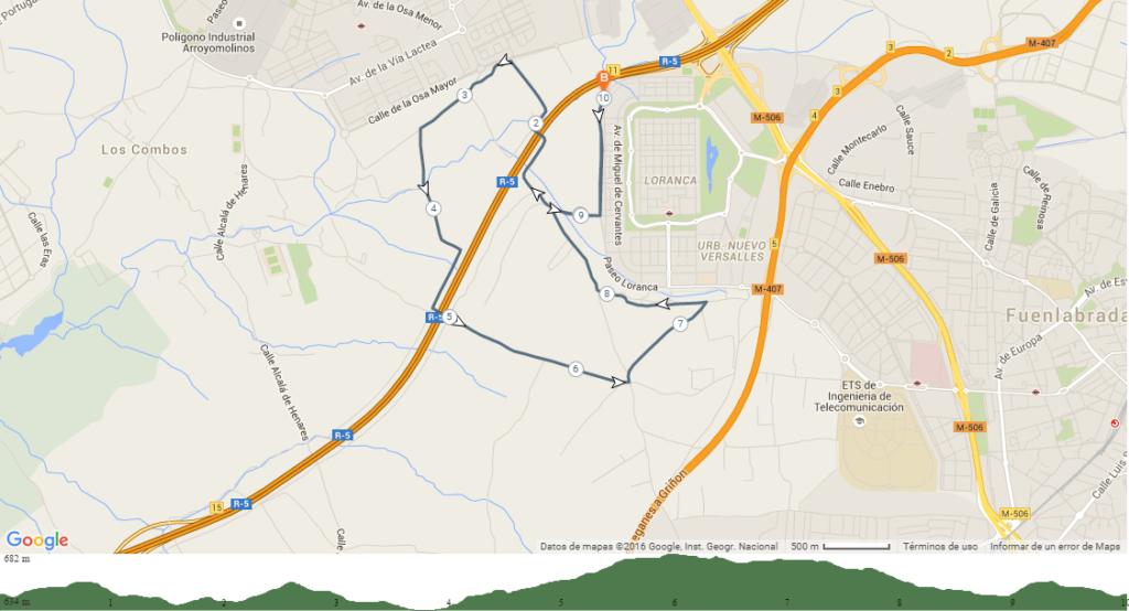 Recorrido10km